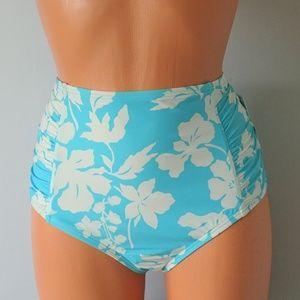 Michael Kors NWT Floral Bikini Bottom Large
